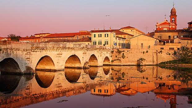 Ponte sul Marecchia a Rimini